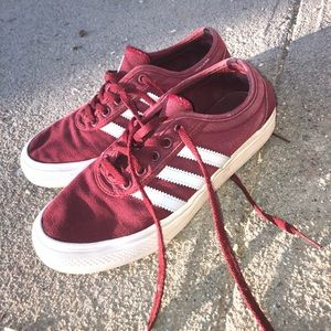 Maroon Adidas. Pre-owned.
